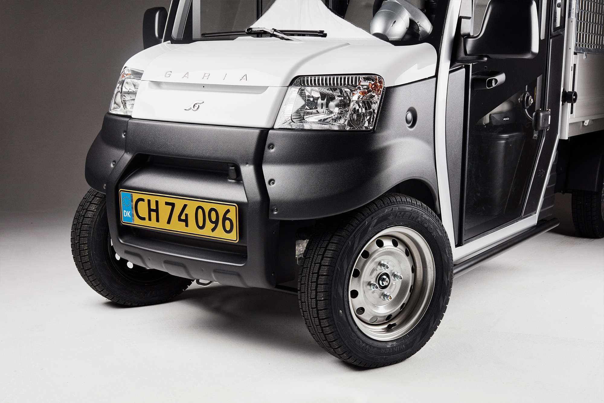 Garia Utility Features street legal front light