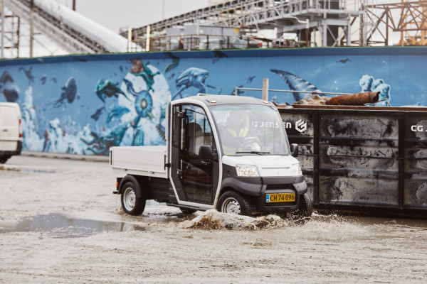 Garia Utility Vehicle industrial use 6