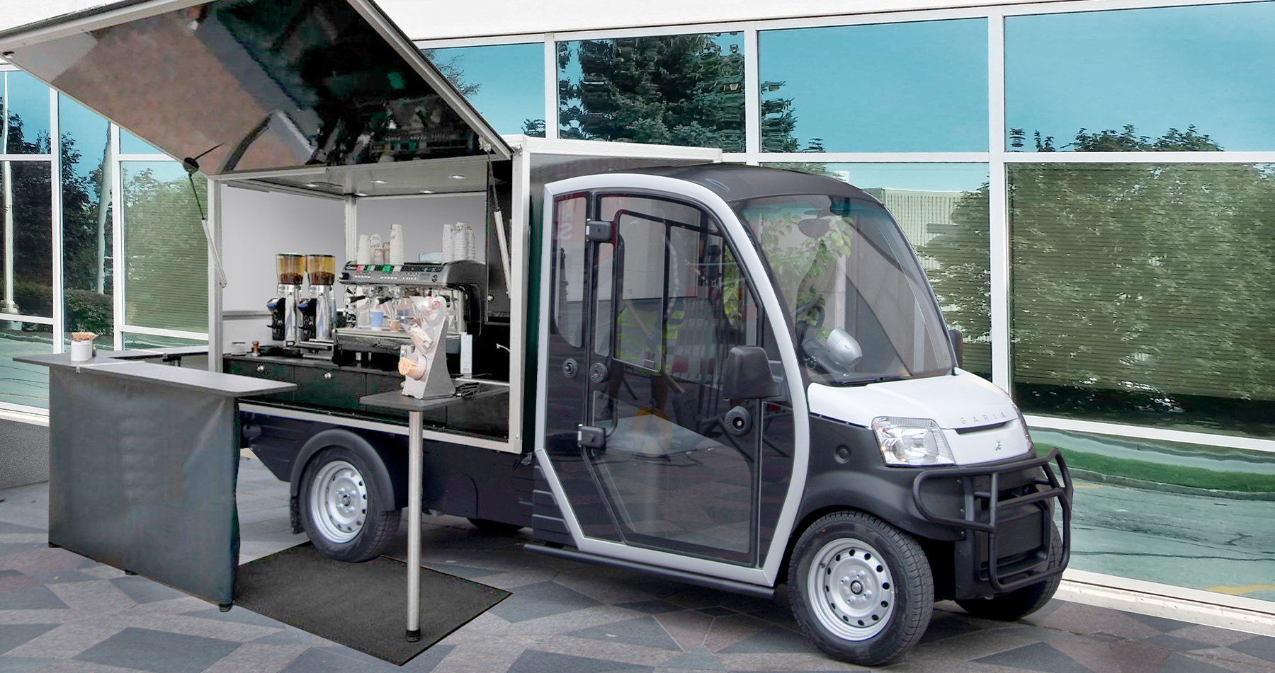 Garia Utility to go coffee new new